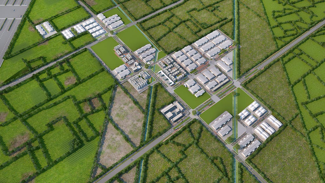 Global Industrial City, Industrial